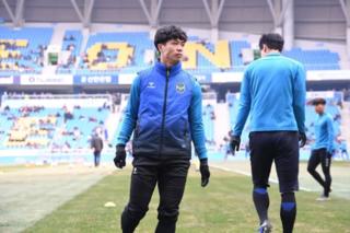Báo Hàn dự đoán khả năng ra sân của Công Phượng tại vòng 2 K.League