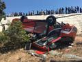 Xe khách chở nhiều du khách nước ngoài lao dốc, nhiều người bị thương