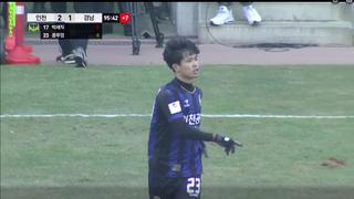 Ra sân chớp nhoáng trong 2 phút ở Incheon United, Công Phượng nói gì?
