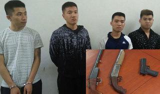 Bắt 5 nghi phạm vụ nổ súng trong đêm khiến 2 người thương vong tại Thanh Hoá