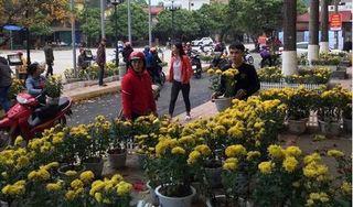Cơ quan chức năng bất lực vì người đến 'hôi' hoa ở ga Đồng Đăng quá đông