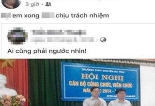 Thực hư thông tin thầy giáo làm nữ sinh lớp 8 có thai ở Hà Tĩnh