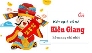 XSKG 3/5- Kết quả xổ số Kiên Giang hôm nay chủ nhật ngày 3/5/2020