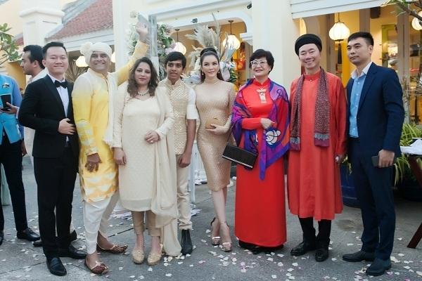 Lý Nhã Kỳ xuất hiện tại đám cưới xa xỉ của tỷ phú Ấn Độ tại Phú Quốc
