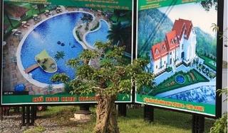Hà Nội: Dự án Khu biệt thự sinh thái Hồ Lụa đang