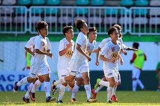 U19 HAGL nhận trận thua cay đắng SHB Đà Nẵng ở lượt trận hai giải U19 Quốc gia