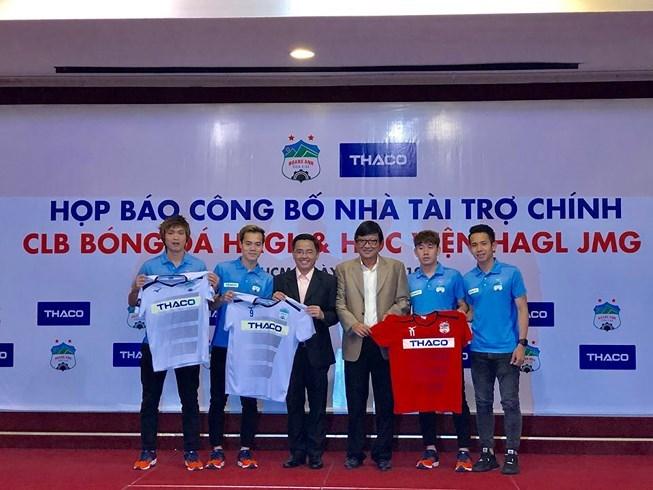 CLB HAGL có nhà tài trợ mới là doanh nghiệp Thaco