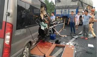 Tạm giữ tài xế xe khách vụ tai nạn thảm khốc trên cao tốc Pháp Vân – Cầu Giẽ