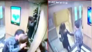 Hé lộ danh tính kẻ 'biến thái' sàm sỡ nữ sinh trong thang máy ở Hà Nội