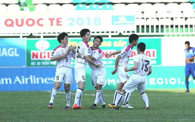 U19 HAGL để An Giang cầm hòa ở lượt trận cuối vòng bảng giải U19 quốc gia