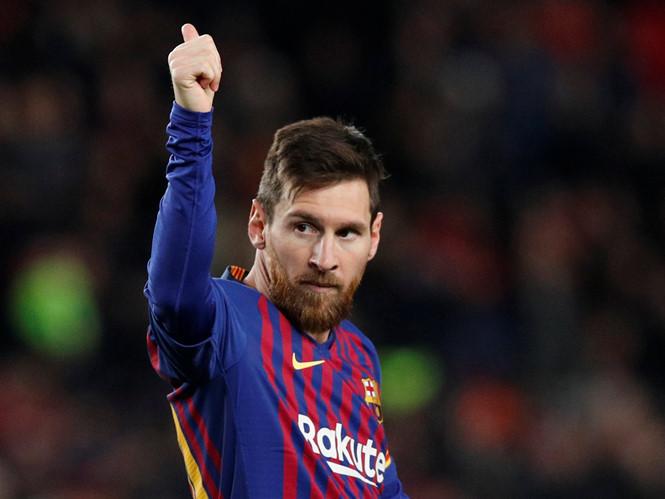 HLV Lyon ông Bruno Genesio hết lời ngợi khen tài năng của Messi