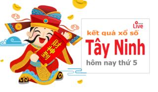 XSTN 2/7 - Kết quả xổ số Tây Ninh hôm nay thứ 5 ngày 2/7/2020
