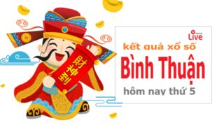 XSBTH 27/2 - Kết quả xổ số Bình Thuận thứ 5 ngày 27/2/2020