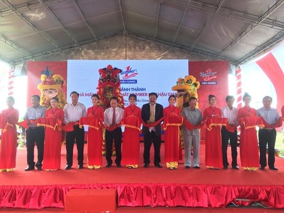 Tân Hiệp Phát khánh thành nhà máy nước giải khát lớn nhất Việt Nam ở Hậu Giang