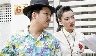 Vợ chồng Nhã Phương - Trường Giang ngọt ngào ở hậu trường tập kịch bản