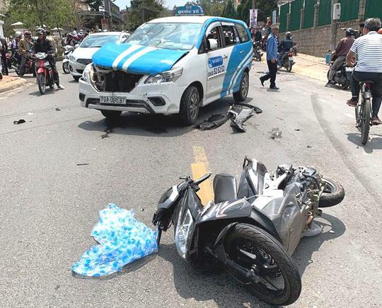 Thanh niên 'ngáo đá' điều khiển gây tai nạn liên hoàn khiến nhiều người bị thương