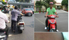 Cư dân mạng bức xúc vì thái độ kỳ lạ của người đàn ông sau va chạm giao thông