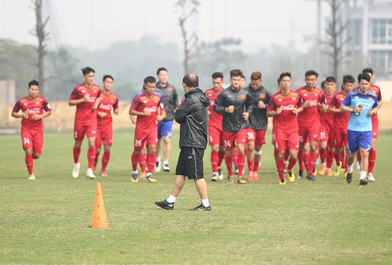 U23 Việt Nam tích cực tập luyện chuẩn bị cho vòng loại U23 châu Á