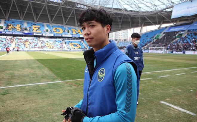 Tiền đạo Công Phượng chưa có cơ hội thể hiện mình ở K.League