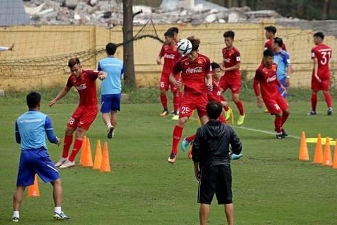 Cặp tiền vệ trung tâm của U23 Việt Nam tại VL U23 châu Á là Hoàng Đức Thanh Sơn
