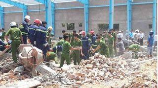 Chuyên gia nhận định nguyên nhân vụ sập tường khiến 8 người thương vong