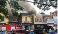 Chùm ảnh hiện trường vụ cháy khách sạn ở Hải Phòng khiến 1 người tử vong