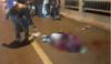 Hà Nội: Thanh niên bất ngờ mất lái đâm vào thành cầu tử vong