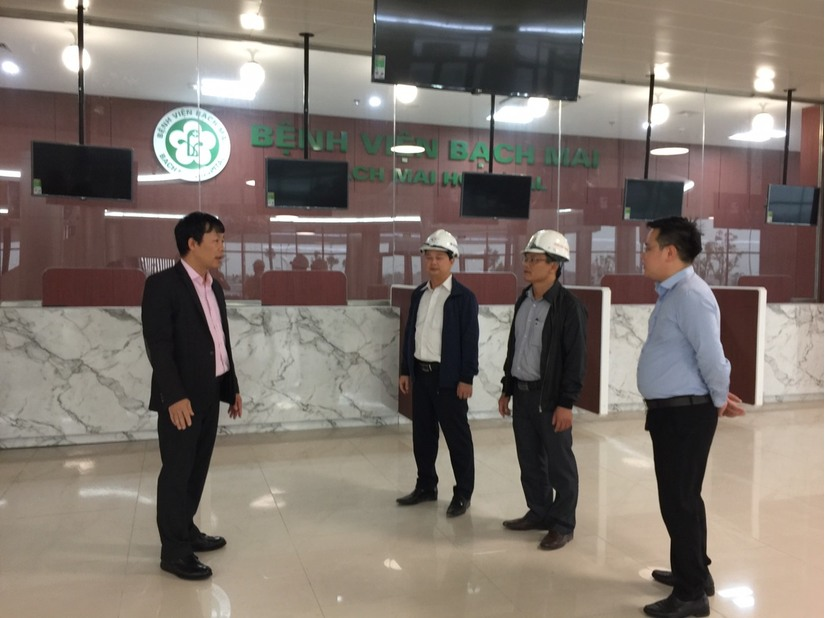 Bệnh viện Bạch Mai cơ sở 2 tại Hà Nam sẽ chính thức hoạt động từ ngày 25/3 2