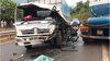 Đấu đầu xe bồn, tài xế xe tải nhập viện trong tình trạng chấn thương nặng