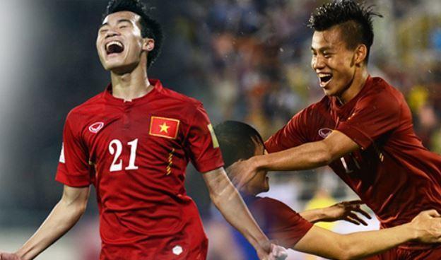 Tiền vệ Văn Toàn và hậu vệ và Văn Thanh đang đứng trước cơ hội rất lớn dự SEA Games 30