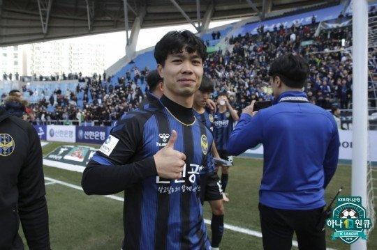 Vì Công Phượng, K-League sẽ đưa các trận đấu của Incheon United lên truyền hình