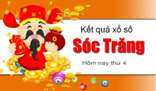XSST 27/3- Kết quả xổ số Miền Nam tỉnh Sóc Trăng thứ 4 ngày 27/3/2019