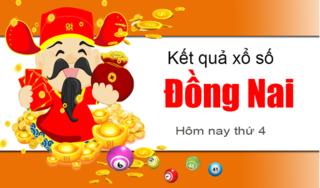 XSDN 27/3- Kết quả xổ số Miền Nam tỉnh Đồng Nai thứ 4 ngày 27/3/2019