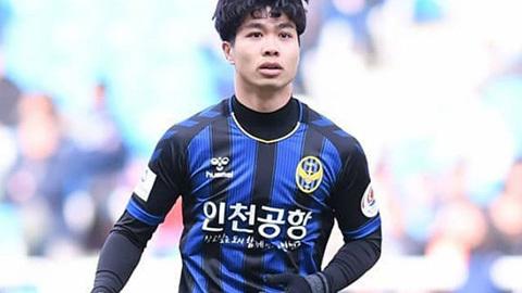 Tiền đạo Công Phượng chưa thể hiện được nhiều tại K.League