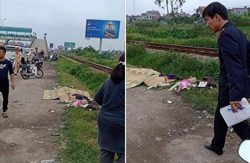 Hải Dương: Di chuyển qua đường sắt bất cẩn, 2 người phụ nữ bị tàu đâm tử vong