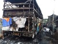 Xe giường nằm chở hơn 40 người cháy rụi trên quốc lộ 1A