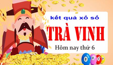 XSTV 29/5 - Kết quả xổ số Trà Vinh hôm nay thứ 6 ngày 29/5/2020