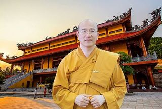 Chân dung sư trụ trì chùa Ba Vàng Thích Trúc Thái Minh