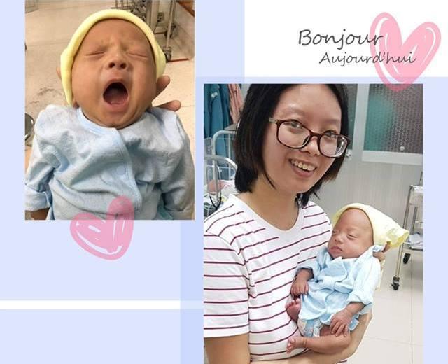 Bé trai sinh non nặng 500gr, vừa bằng bàn tay người lớn được nuôi sống kỳ diệu