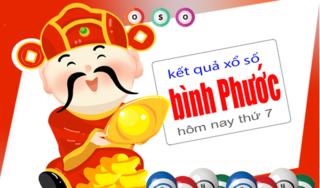 XSBP 23/3 - Kết quả xổ số miền nam tỉnh Bình Phước thứ 7 ngày 23/3/2019