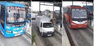 Nhiều vụ phương tiện tông barie sau 2 ngày BOT Mỹ Lộc thu phí trở lại