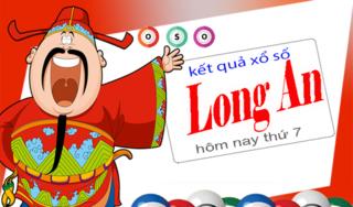 XSLA 6/4 - Kết quả xổ số Miền Nam tỉnh Long An thứ 7 ngày 6/4/2019