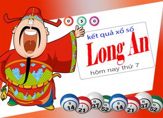 XSLA 30/5 - Kết quả xổ số Long An hôm nay thứ 7 ngày 30/5/2020