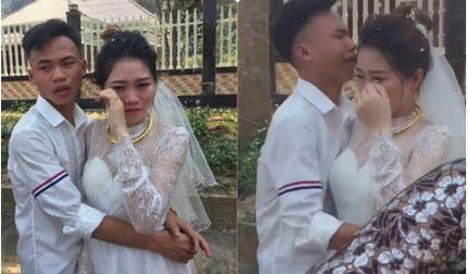 Chị đi lấy chồng, em trai khóc đỏ mắt, ôm mãi không chịu buông