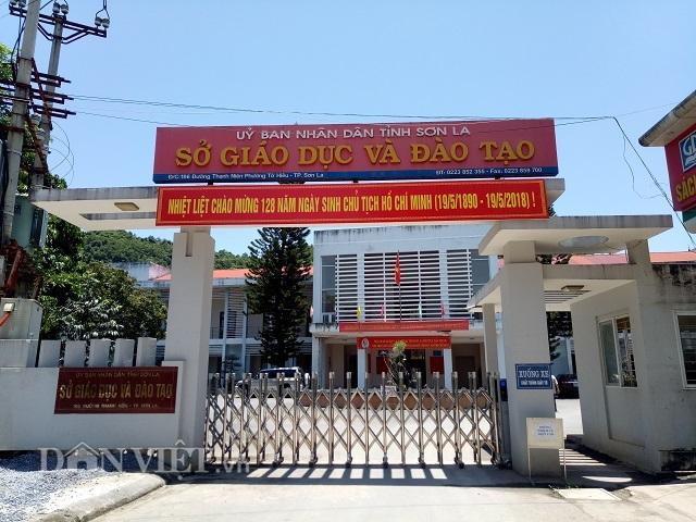 Sở GD-ĐT Sơn La nơi xảy ra vụ bê bối gian lận điểm thi trong kỳ thi THPT quốc gia. Ảnh Dân Việt
