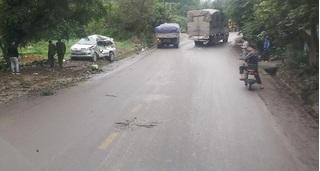 Tài xế xe tải tông ô tô 7 chỗ khiến 8 người thương vong ở Thái Nguyên dương tính với ma tuý