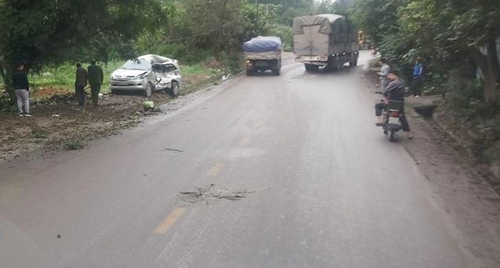 Tài xế điều khiển xe tải tông trực diện ô tô 7 chỗ khiến 8 người thương vong ở Thái Nguyên dương tính với ma tuý