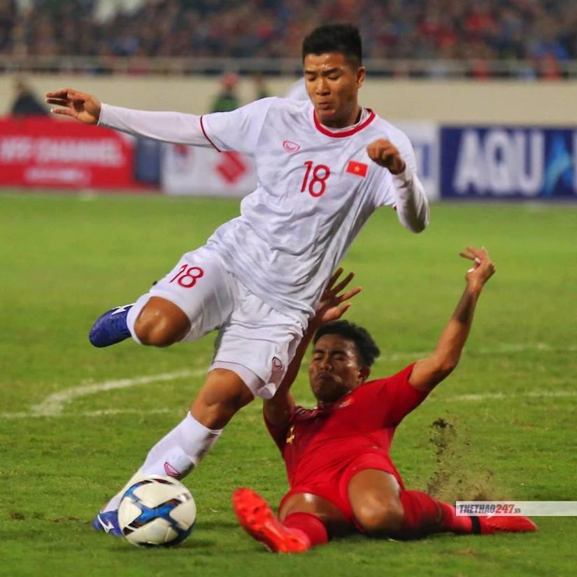 U23 Việt Nam thắng sát nút Indonesia ở lượt trận hai