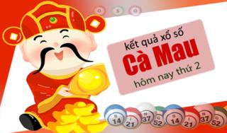 XSCM 1/4 - Kết quả xổ số Miền Nam tỉnh Cà Mau thứ 2 ngày 1/4/2019