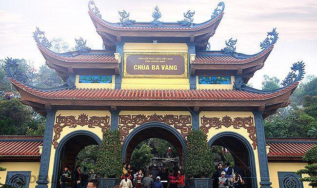 Dừng hoạt động website chùa Ba Vàng